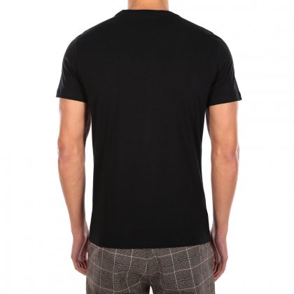 pánské triko IrieDaily Between the Lines Tee black