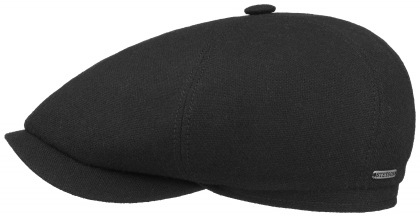 bekovka Stetson 6-Panel Cap Virgin Wool/Cashmere