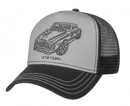 čepice STETSON Trucker Cap Muscle Car and Hat