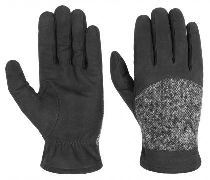 rukavice Stetson Gloves Goat Nubuck/Virgin Wool