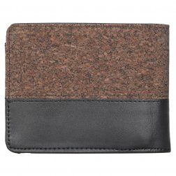 peněženka IrieDaily Cork On Wallet black